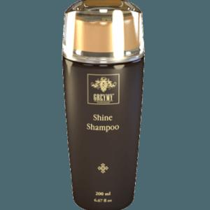 Безсульфатный шампунь с кератином для блеска волос 200 мл