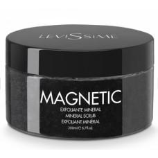 Скраб для лица магнитный минеральный с лунным камнем / Magnetic Mineral scrub