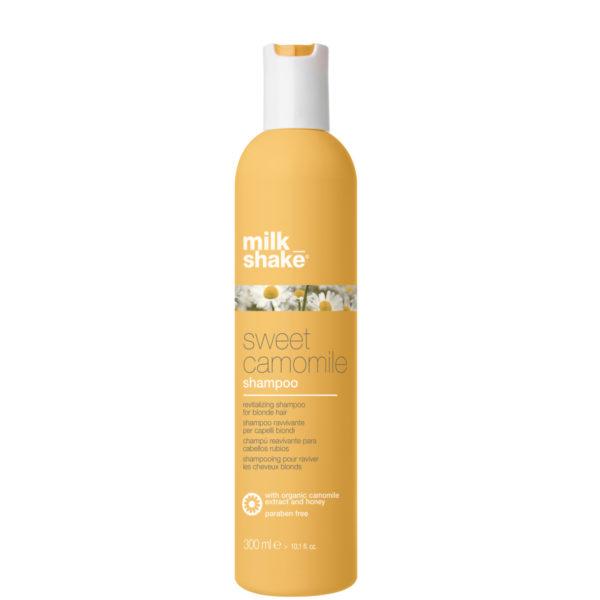 Бессульфатный шампунь с экстрактом ромашки для придания блеска Sweet camomile shampoo